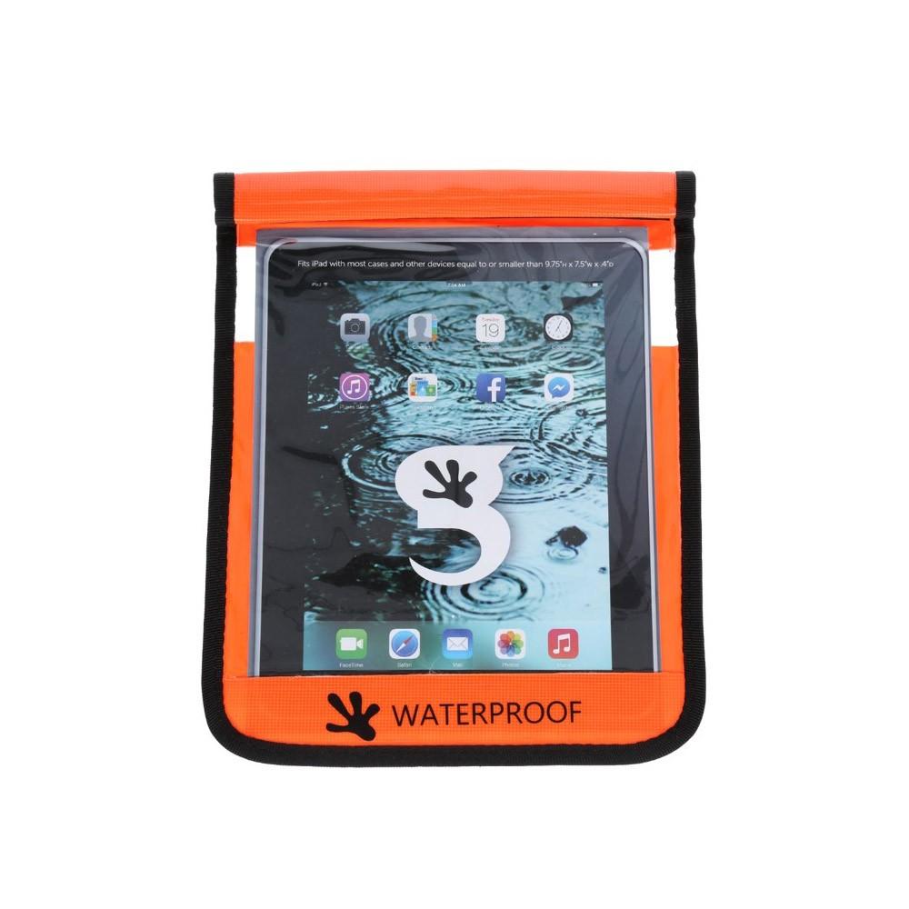 Gecko iPad Drybag Orange - Front