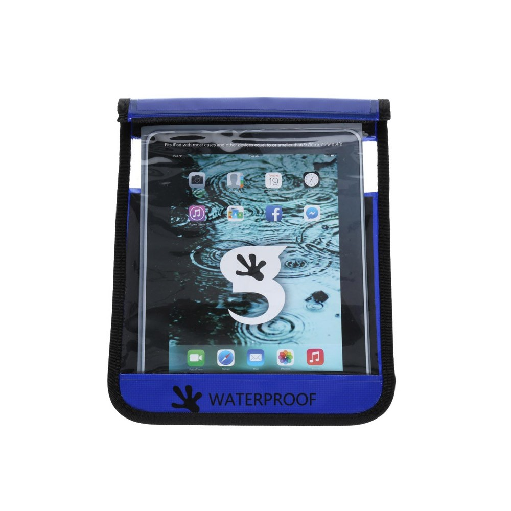 Gecko iPad Drybag Royal - Front