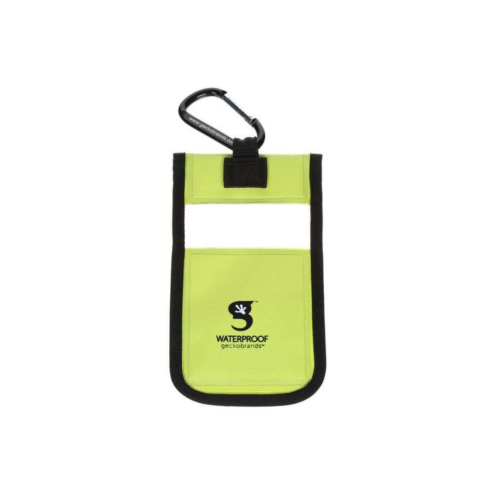 Gecko iPhone Drybag Green - Back