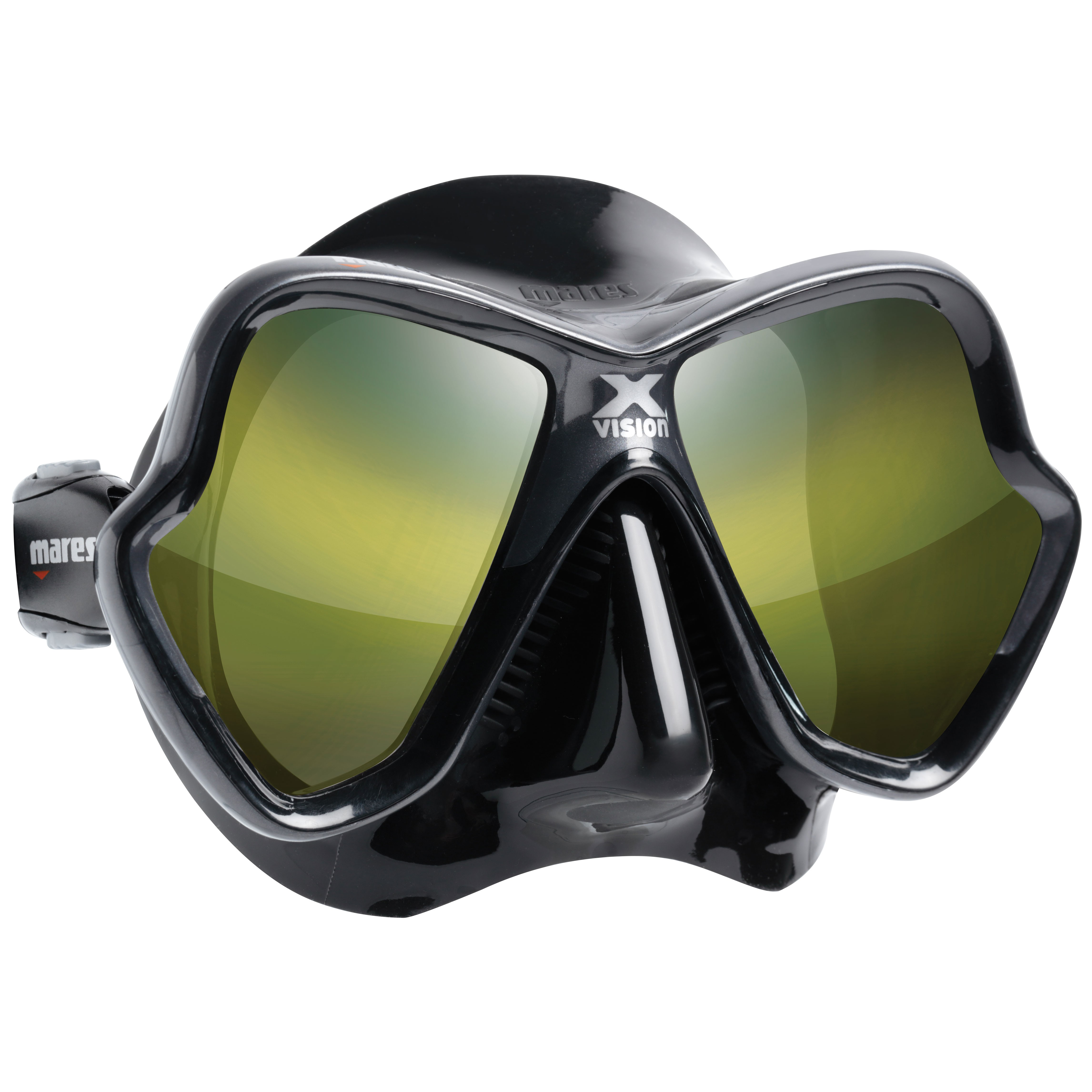 Mares X-Vision Ultra Mirrored Dive Mask gold