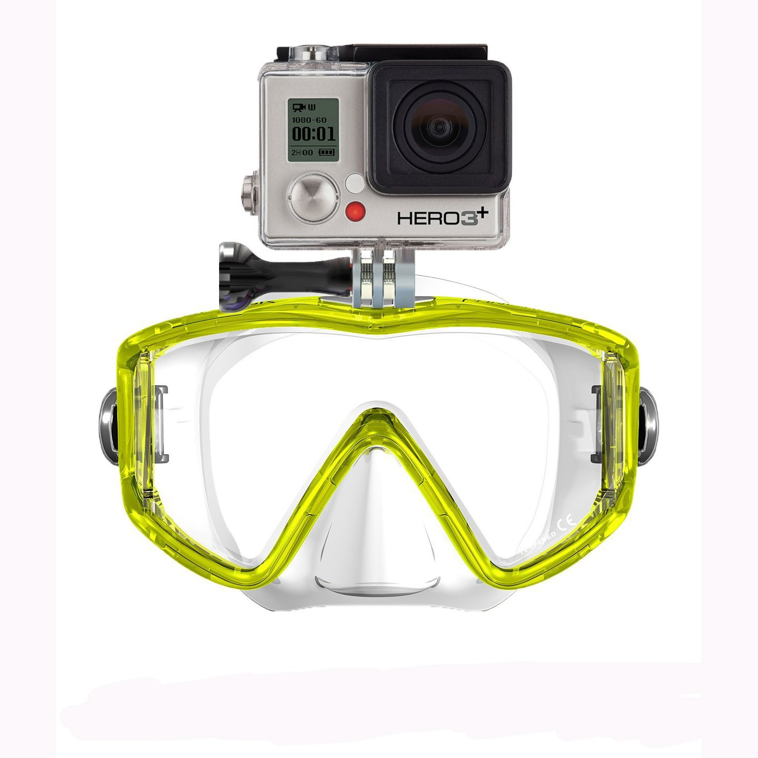 GoMask Panorama Scuba Mask for GoPro