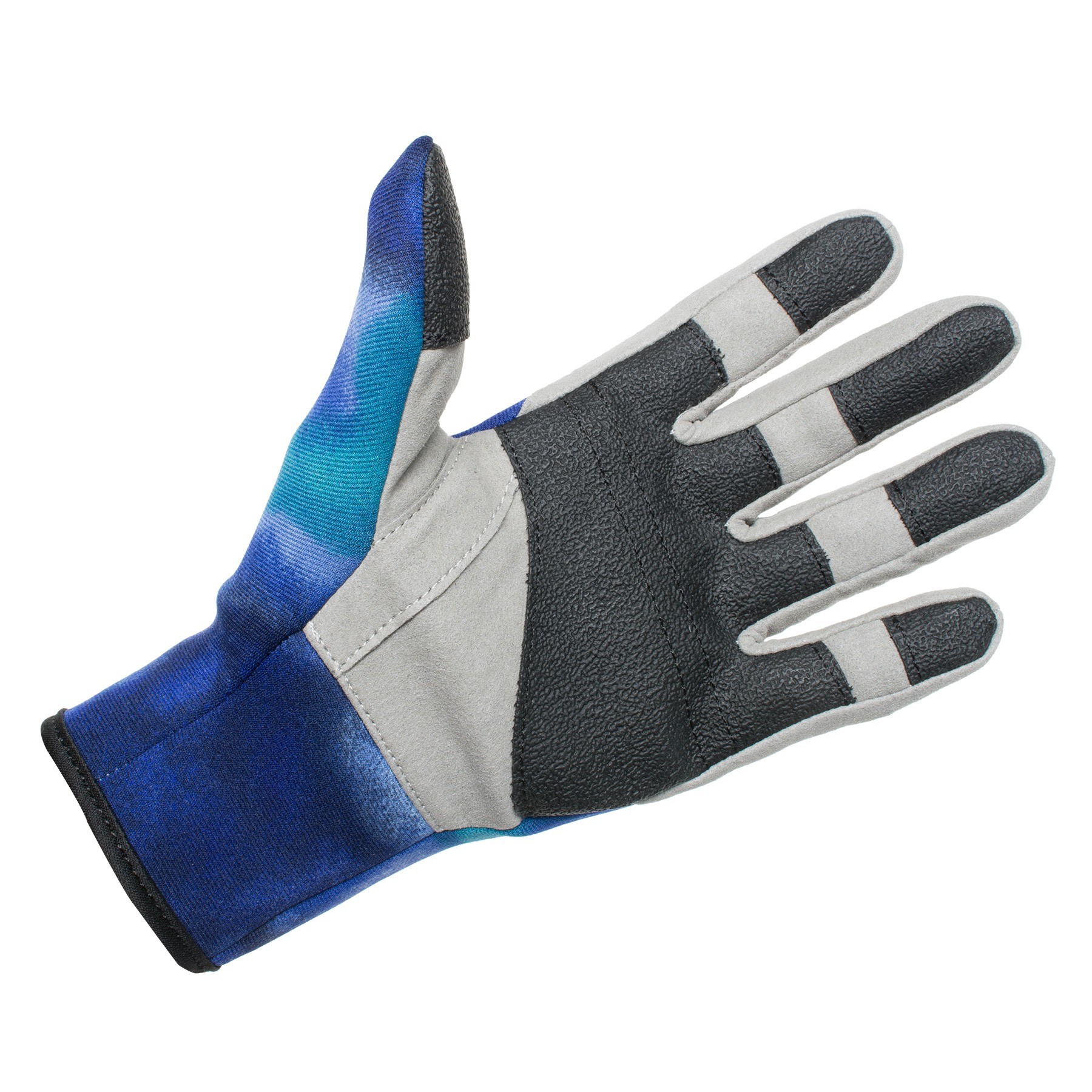 HAMMERHEAD TUFF GRAB 2MM AMARRA GLOVE BLUE PALM