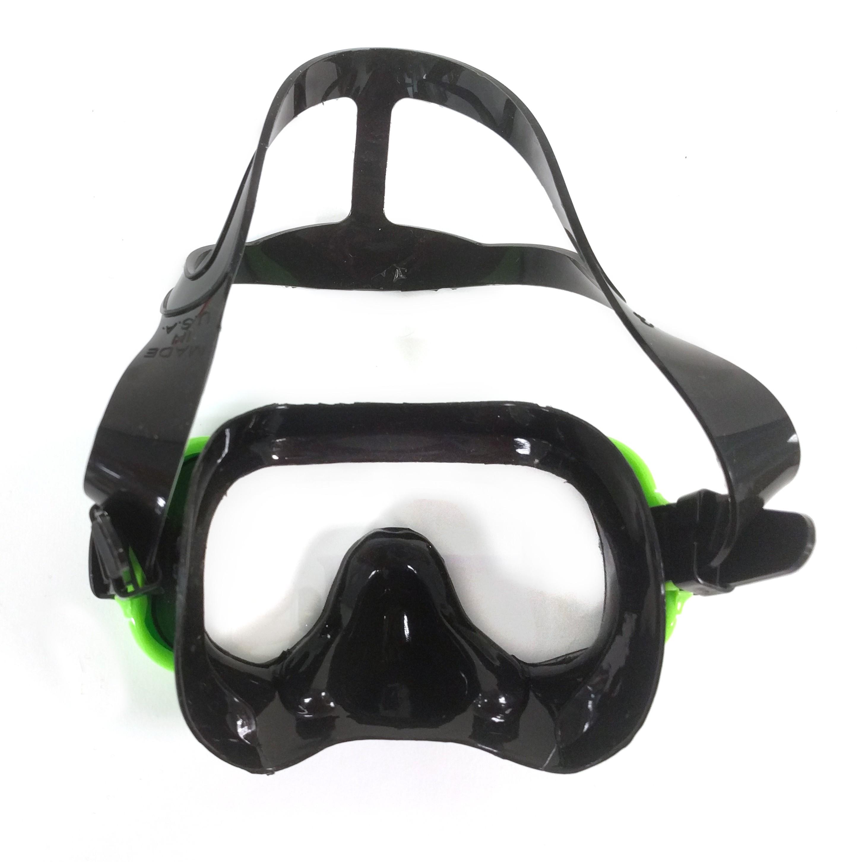 H2Odyssey Capri MS6 Mask (Kid's) - Black/Green