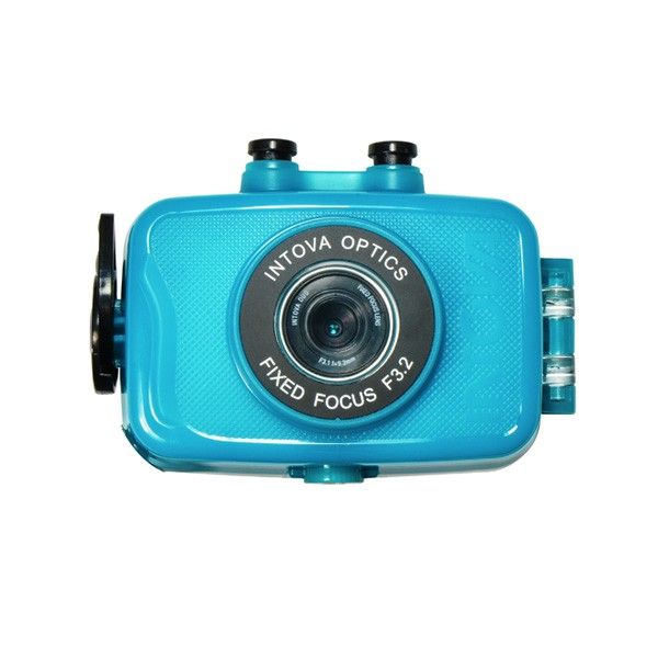 Intova Duo Action Waterproof Camera aqua