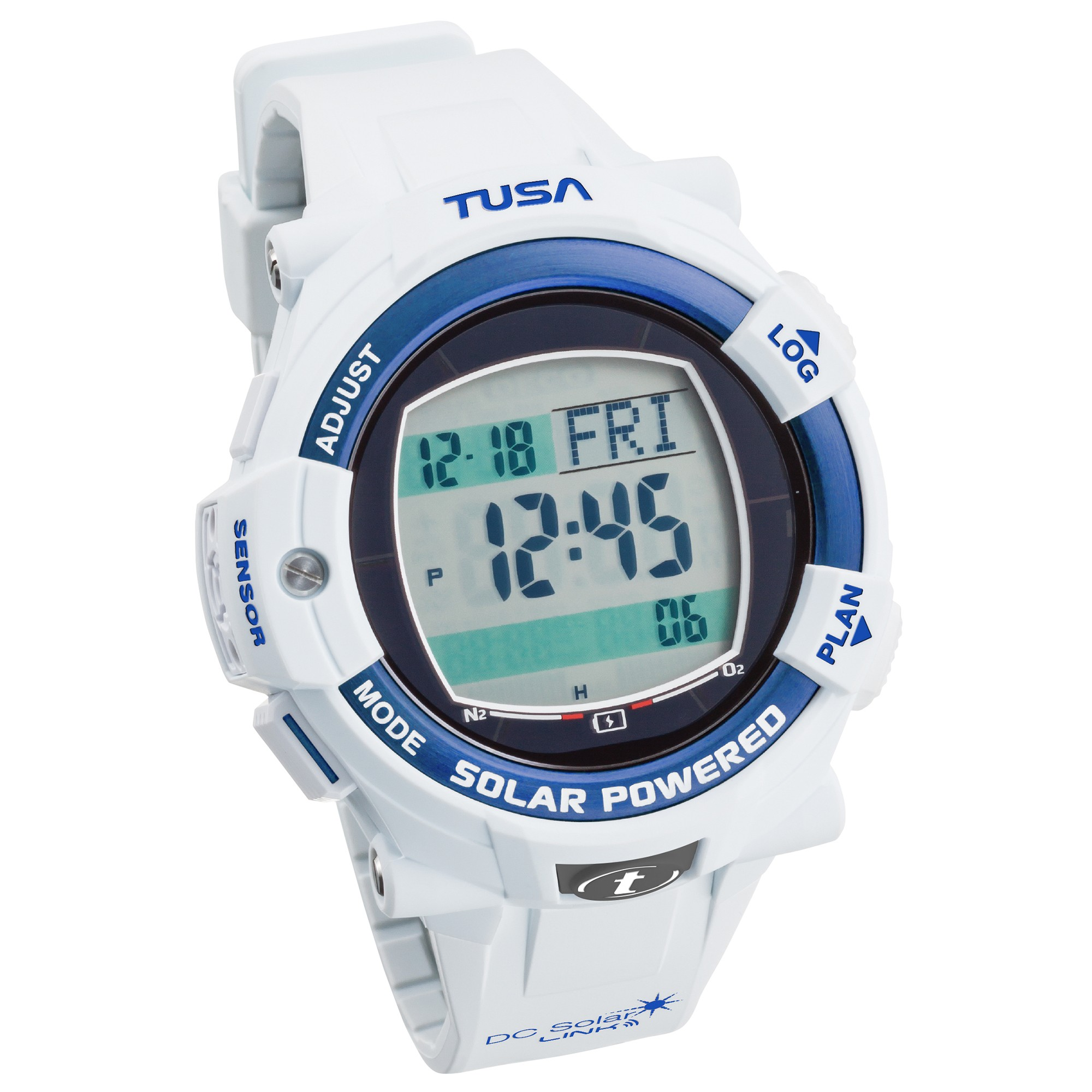 Tusa DC Solar Link Dive Computer & Watch
