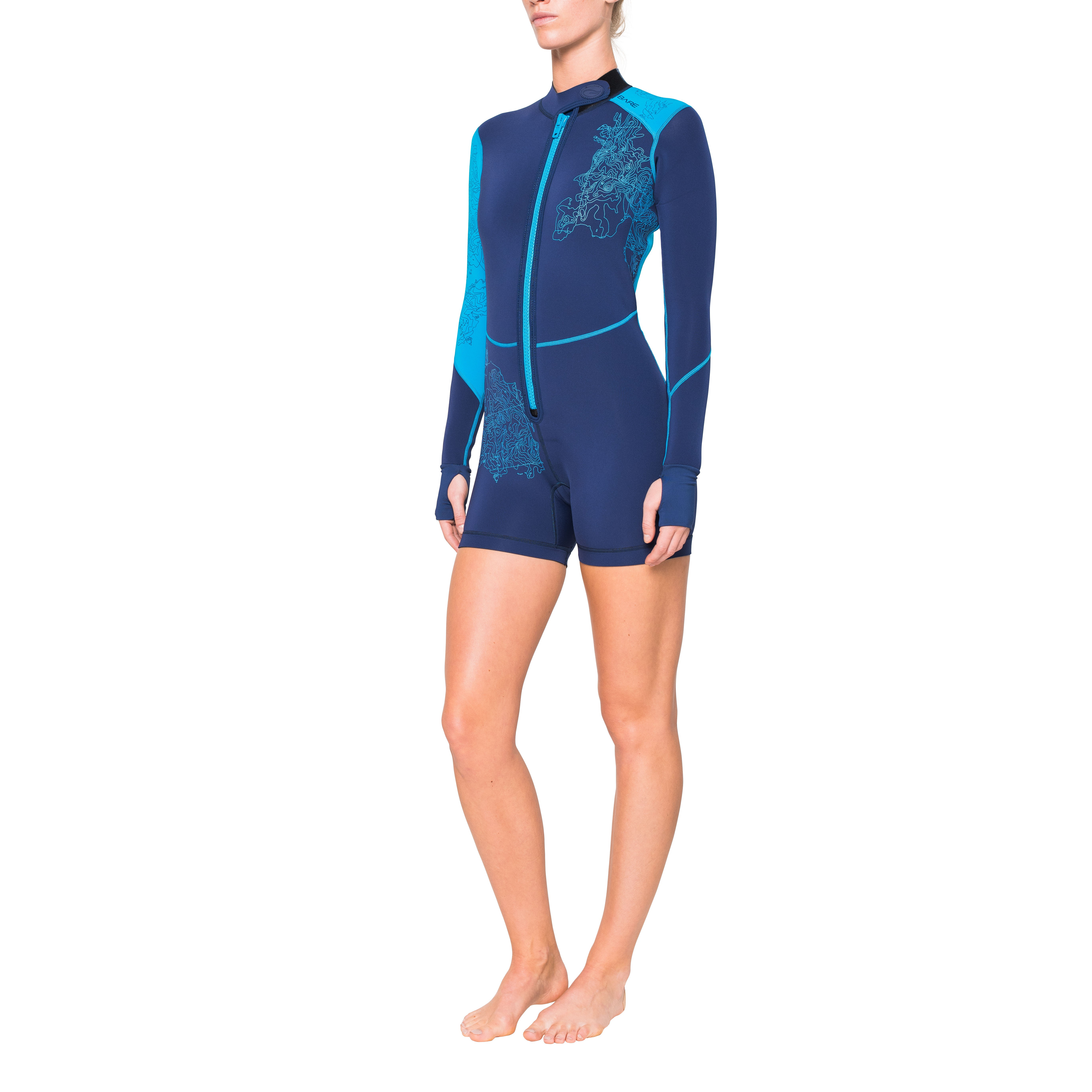 BARE Women's 2mm 2016 Limited Edition Shorty Wetsuit