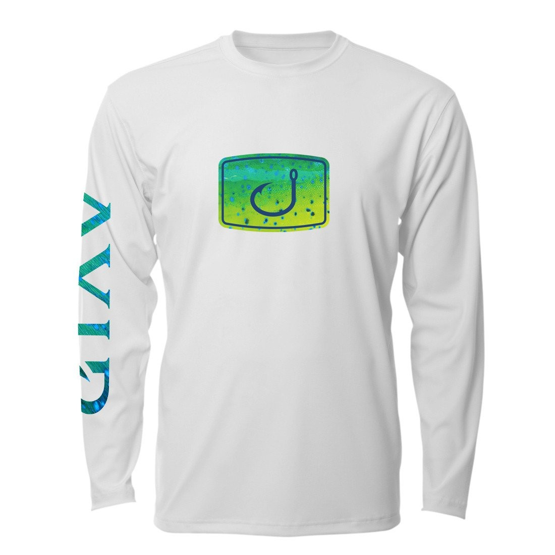 AVID Mahi Fish Fill AVIDry Long Sleeve Performance Shirt
