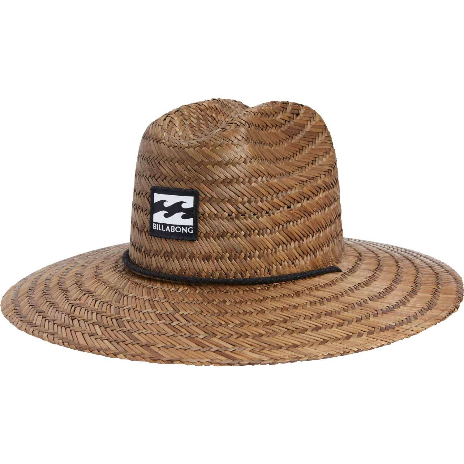 Billabong Tides Straw Lifeguard Hat Mens Divers Direct