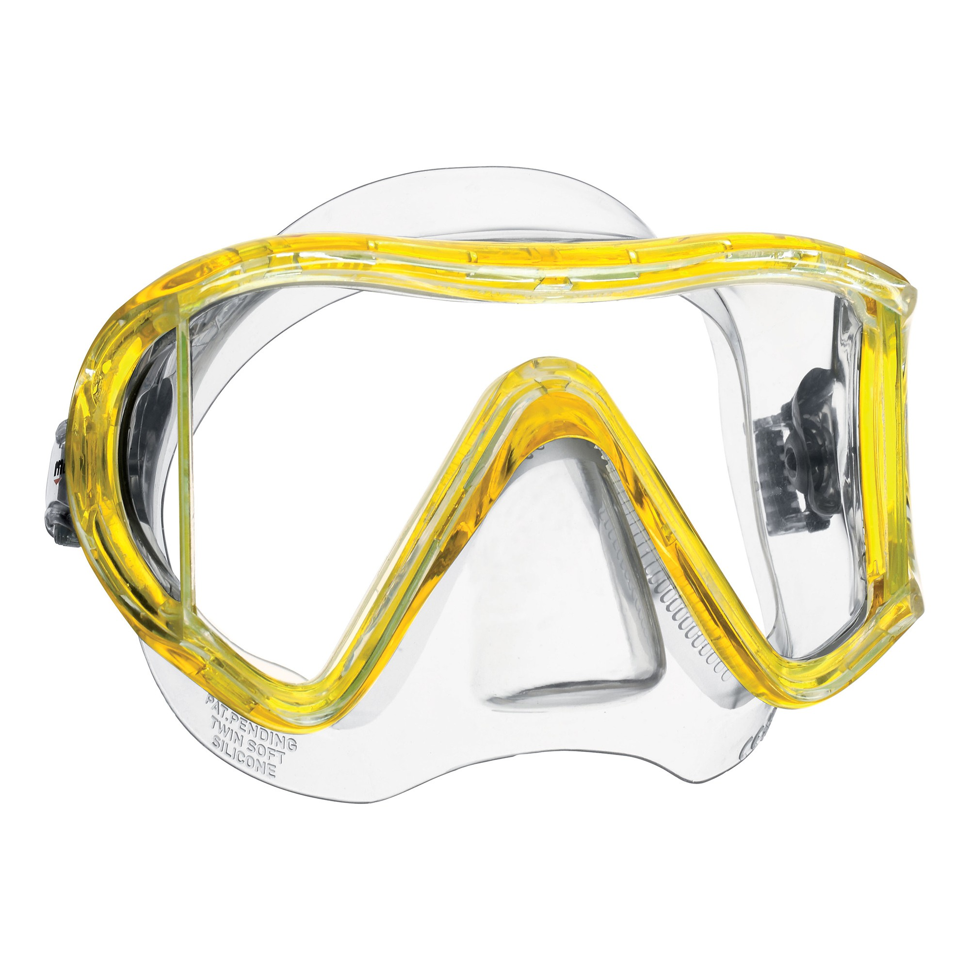 Mares I3 Scuba Mask Yellow