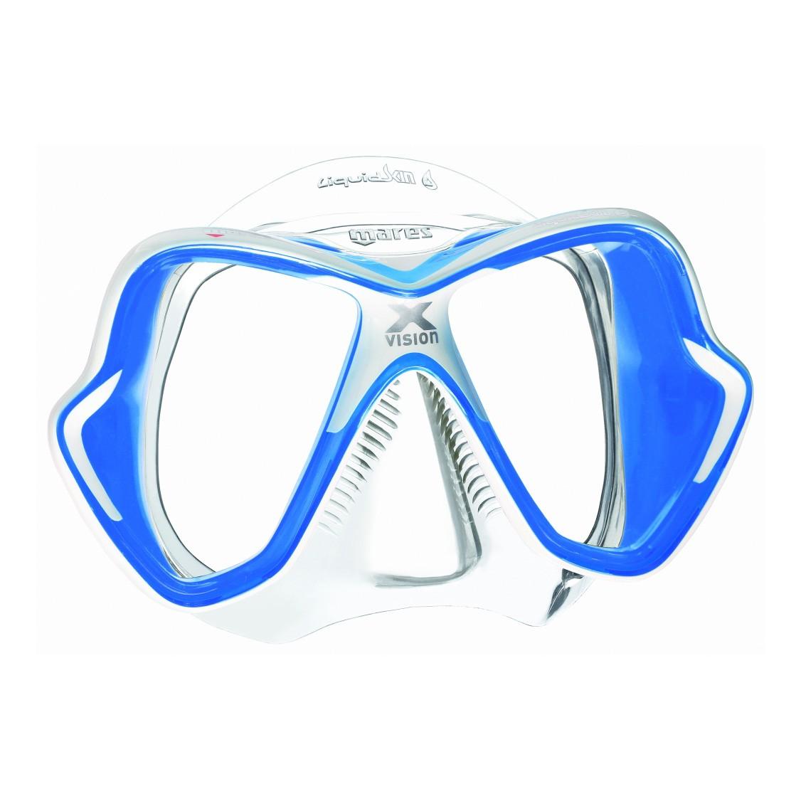 Mares X Vision Liquidskin Mask Blue