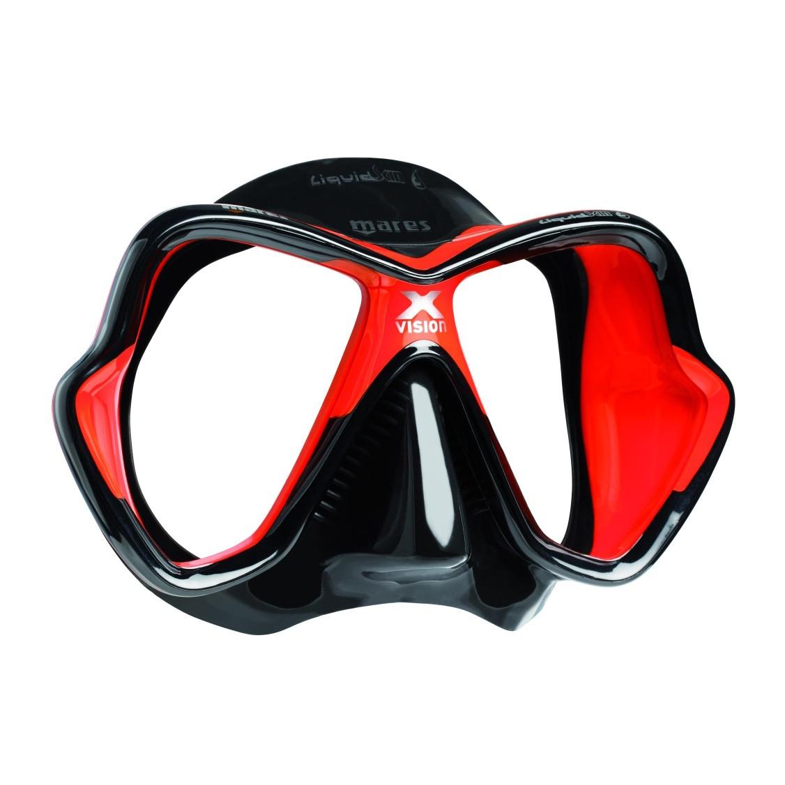 Mares X Vision Liquidskin Mask Red