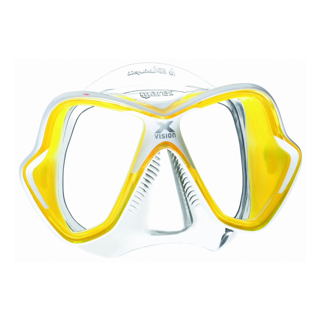 Mares X Vision Liquidskin Mask Yellow Clear
