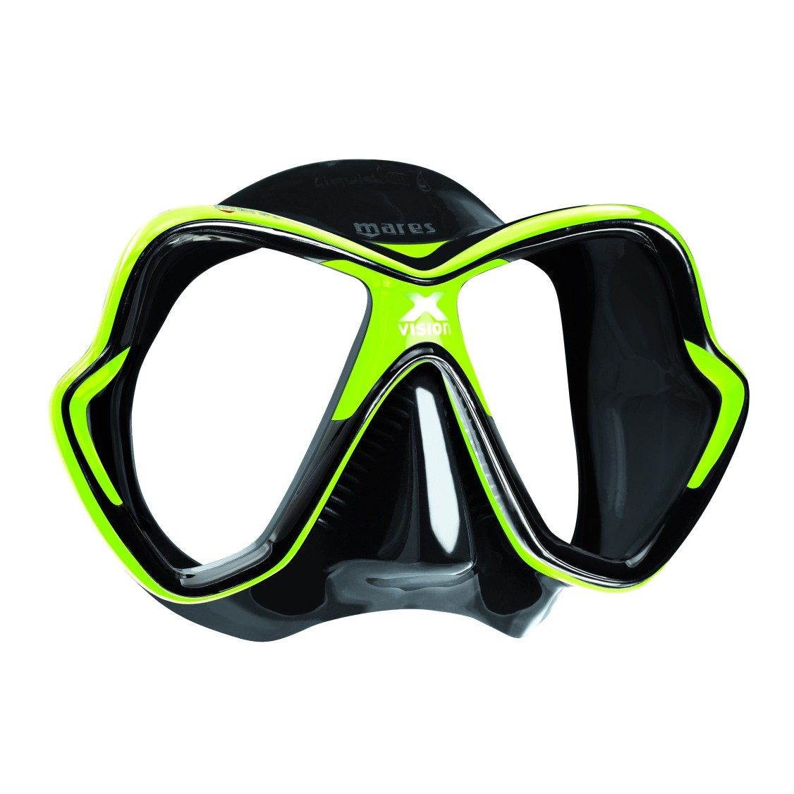 Mares X-Vision Mask 2014 Lime