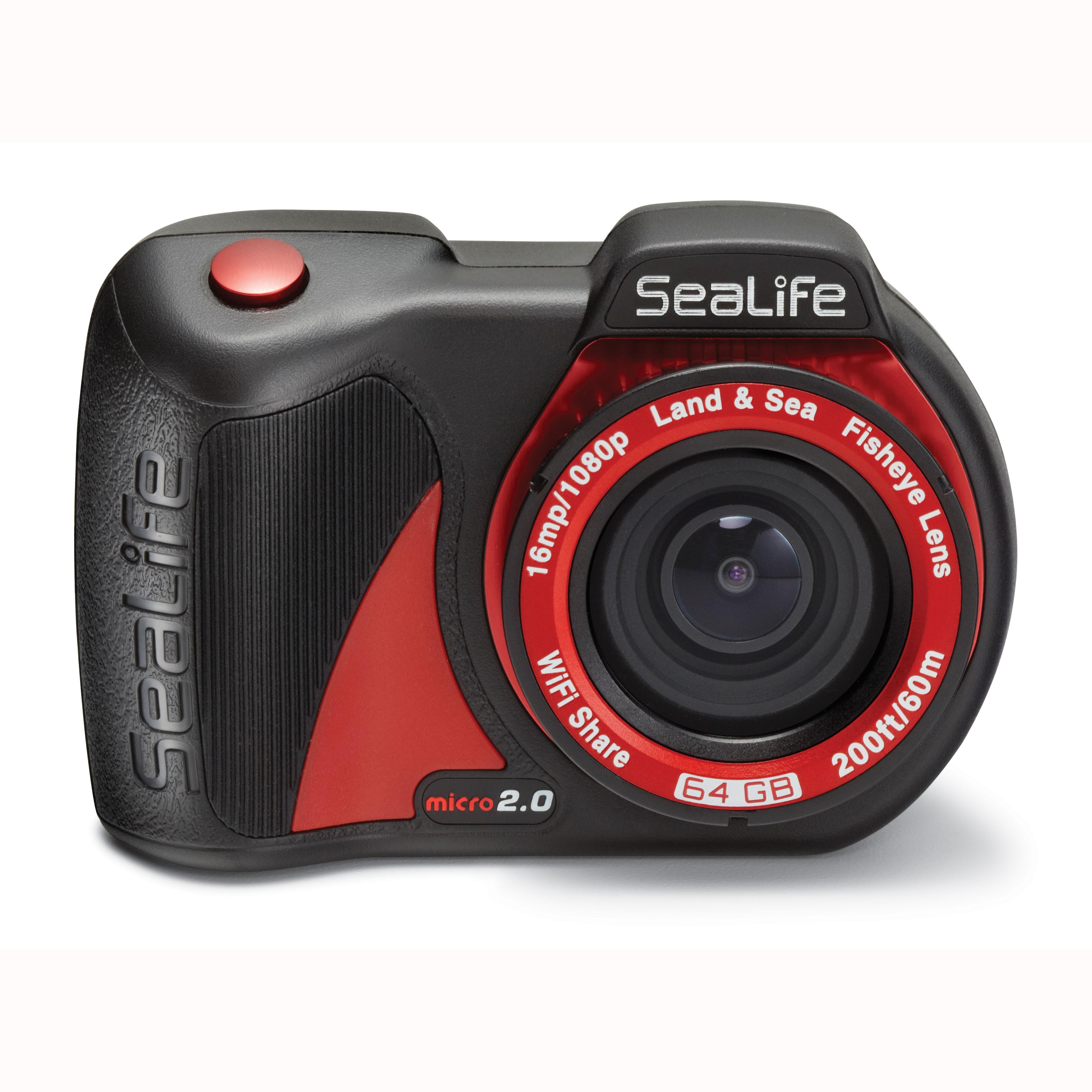 SeaLife Micro 2.0 WiFi 64GB Underwater Camera front