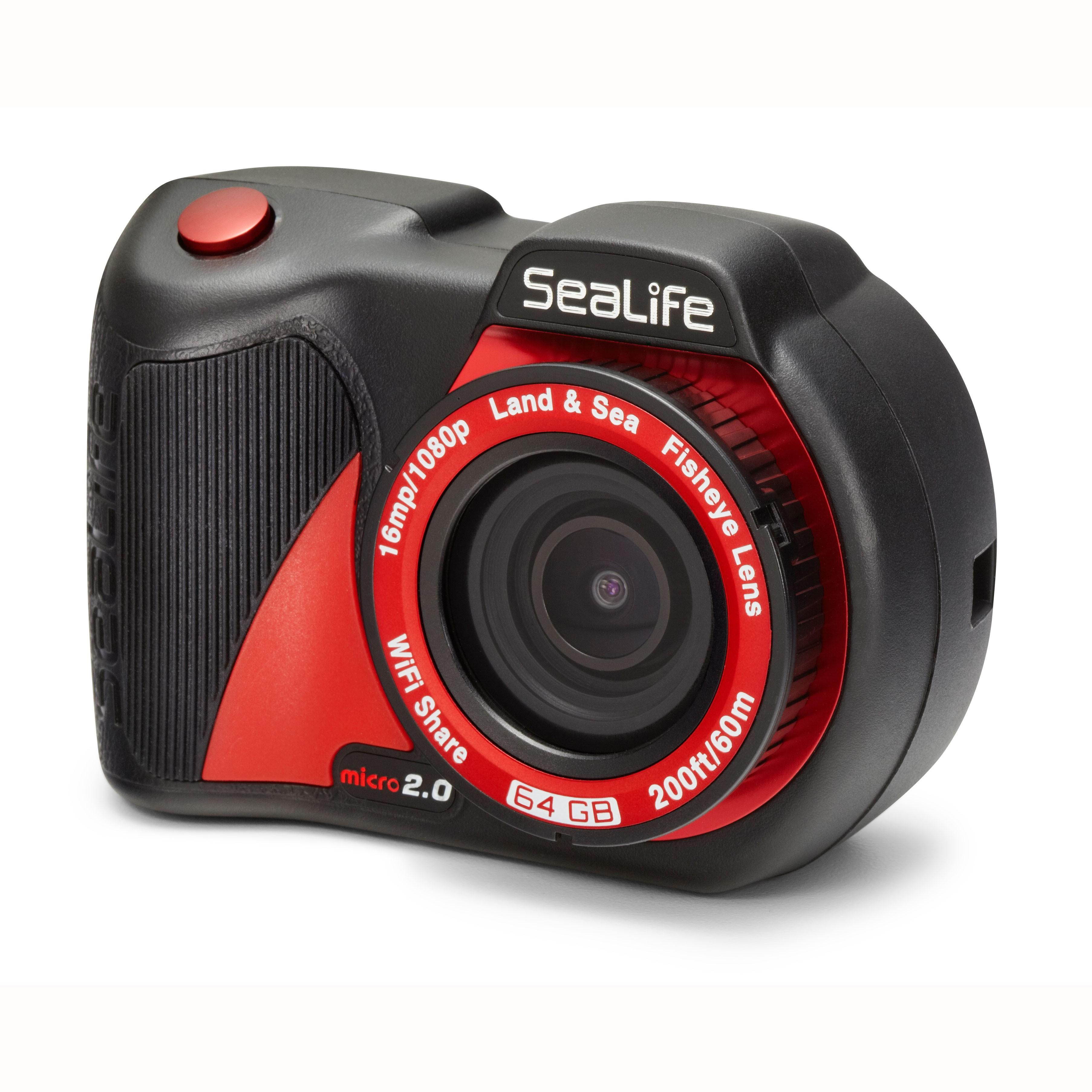 SeaLife Micro 2.0 WiFi 64GB Underwater Camera angle