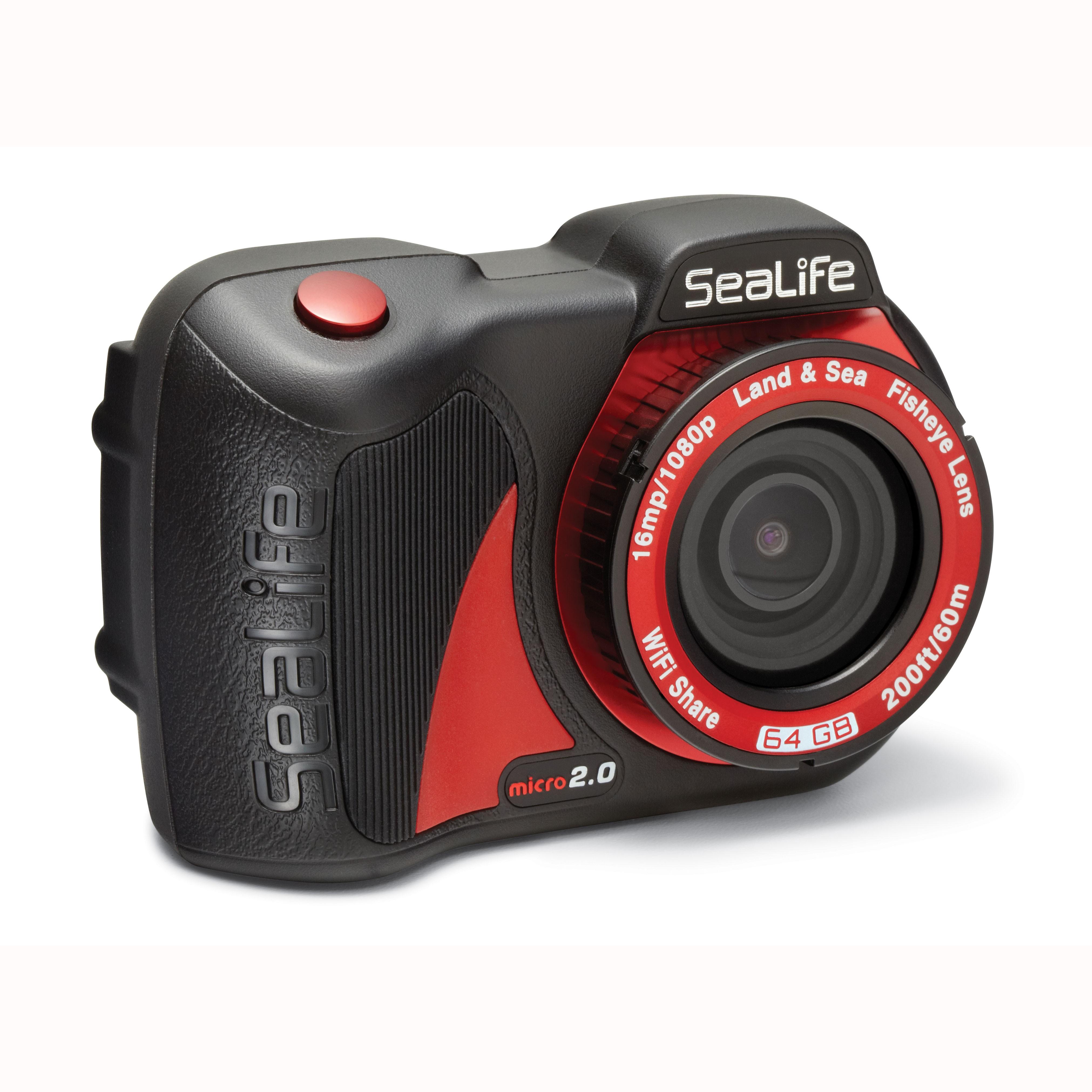 SeaLife Micro 2.0 WiFi 64GB Underwater Camera side