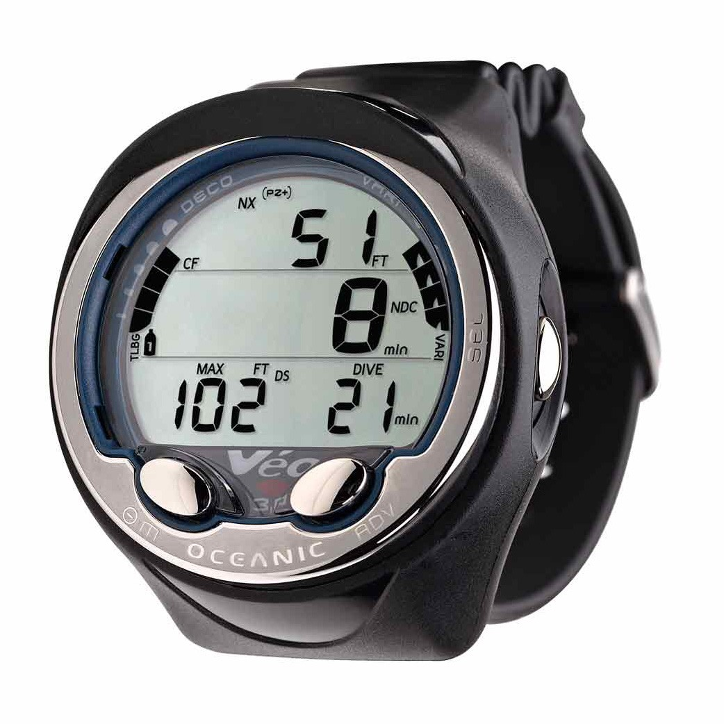 Oceanic veo 3 0 dive computer watch divers direct for Dive computer wrist