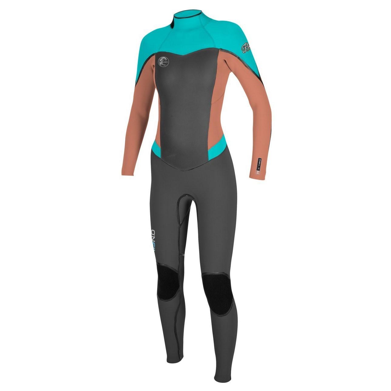 O'Neill Women's Flair Full Scuba Wetsuit 4/2