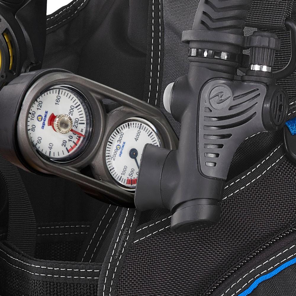 Aqua Lung Pro Scuba BCD gauge