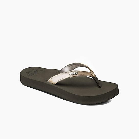 Reef Cushion Luna Vegan Leather Sandals (Women's)