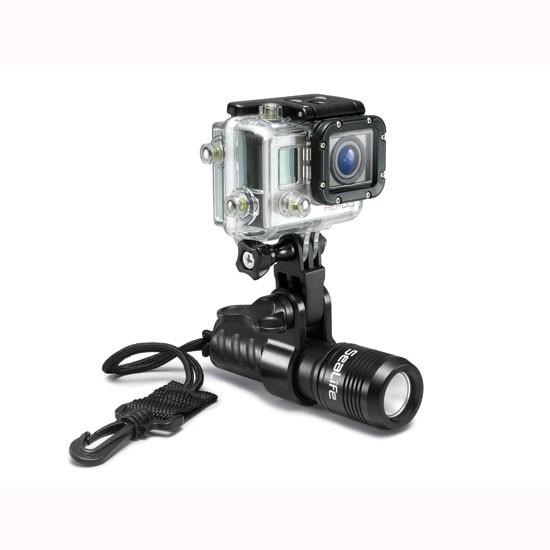 SeaLife Sea Dragon Mini 600 LED UW Light with gopro adapter