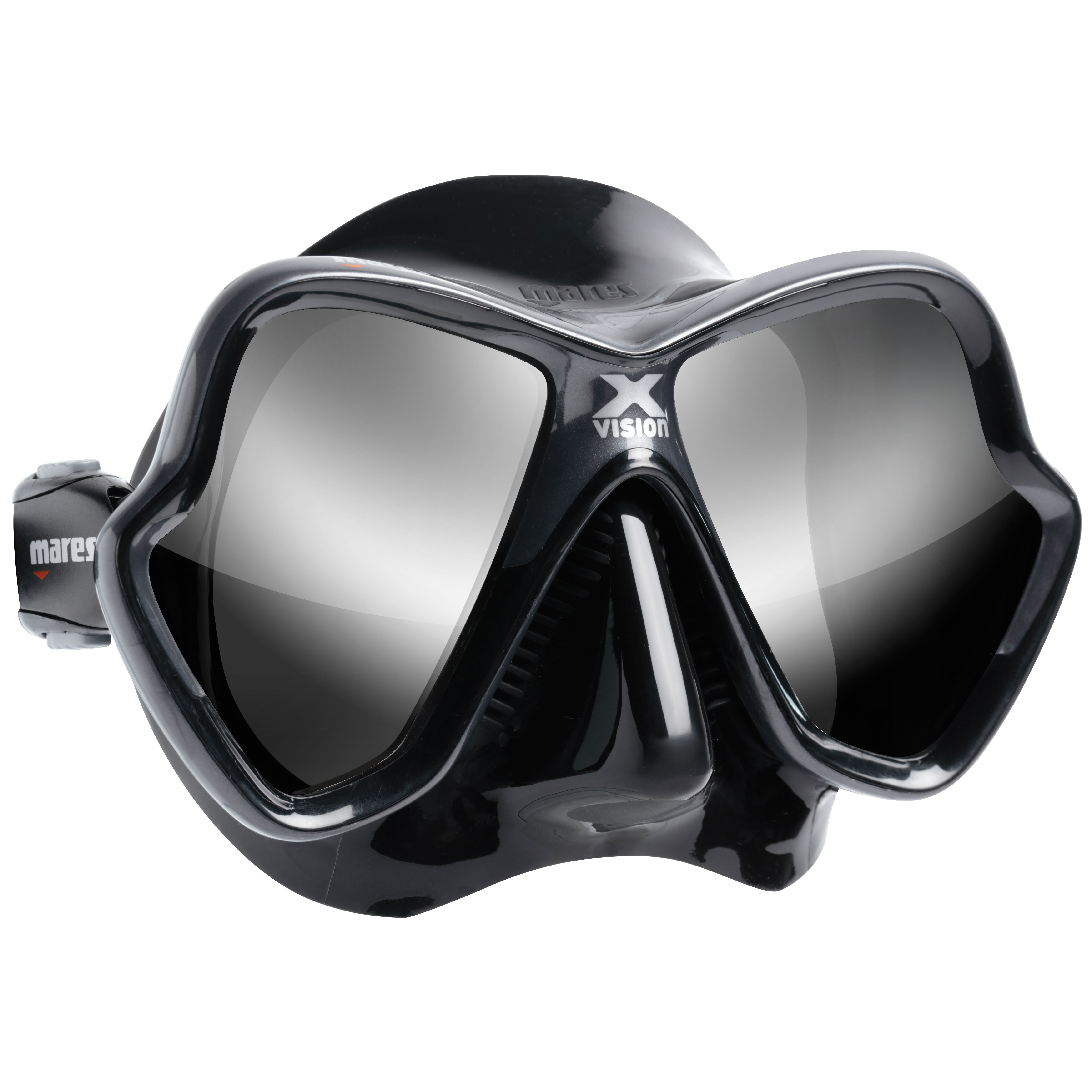Mares X-Vision Ultra Mirrored Dive Mask silver