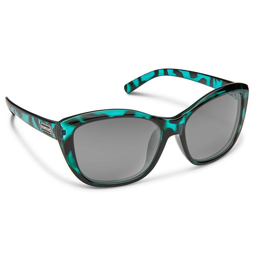 ec11d6d7847 Suncloud Skyline Polarized Polycarbonate Sunglasses - Petrol Tortoise Gray  - Divers Direct