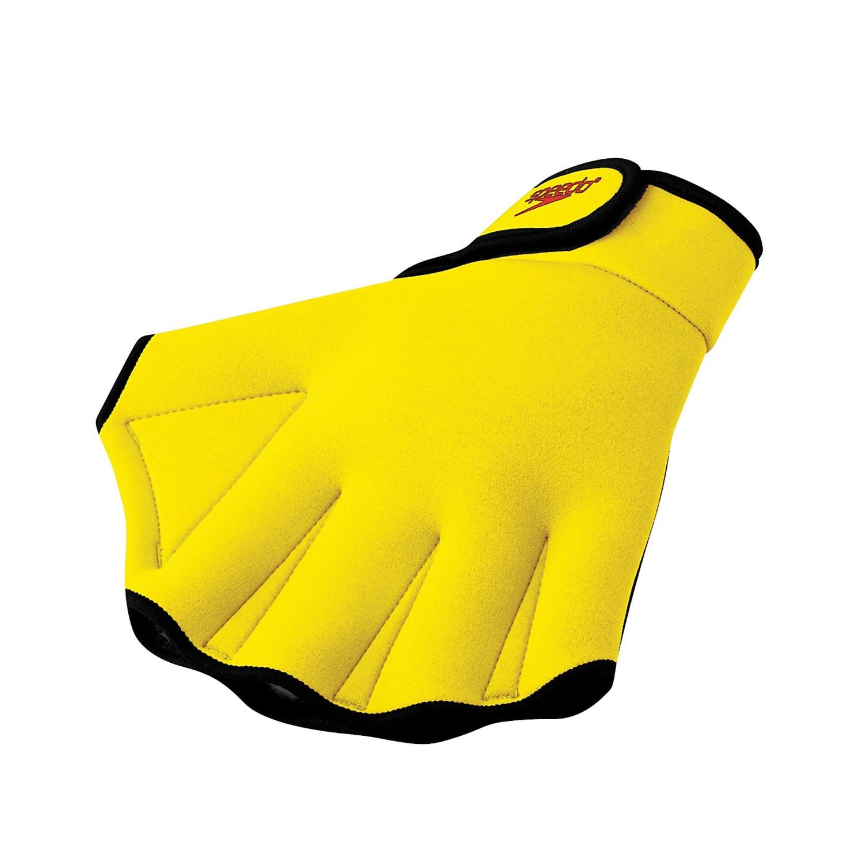 aqua fitness glove yellow