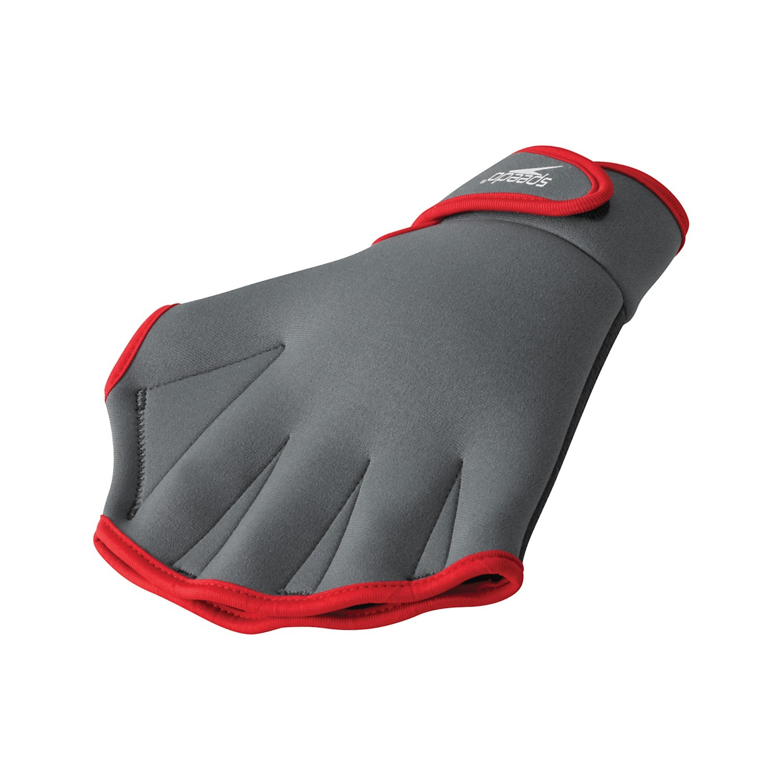 aqua fitness glove gray