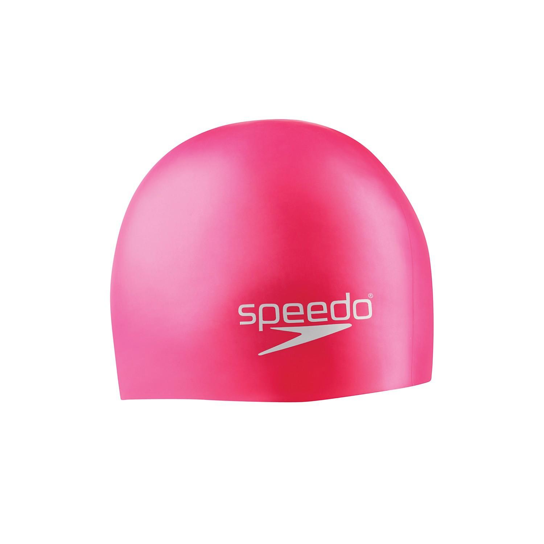 Speedo Jr Silicone Cap - Pink