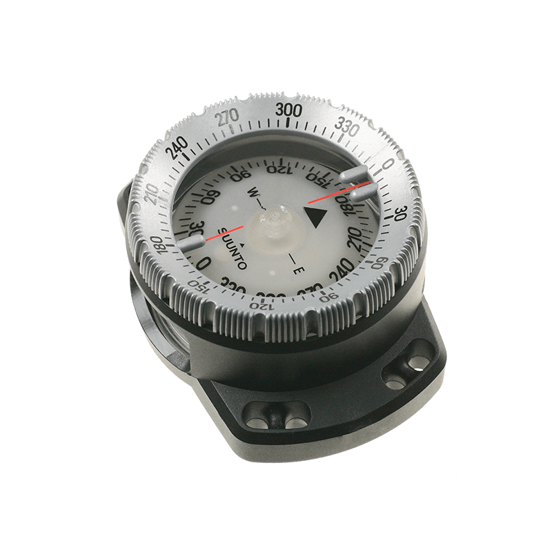 Suunto SK8 Wrist Compass with Bungee side view