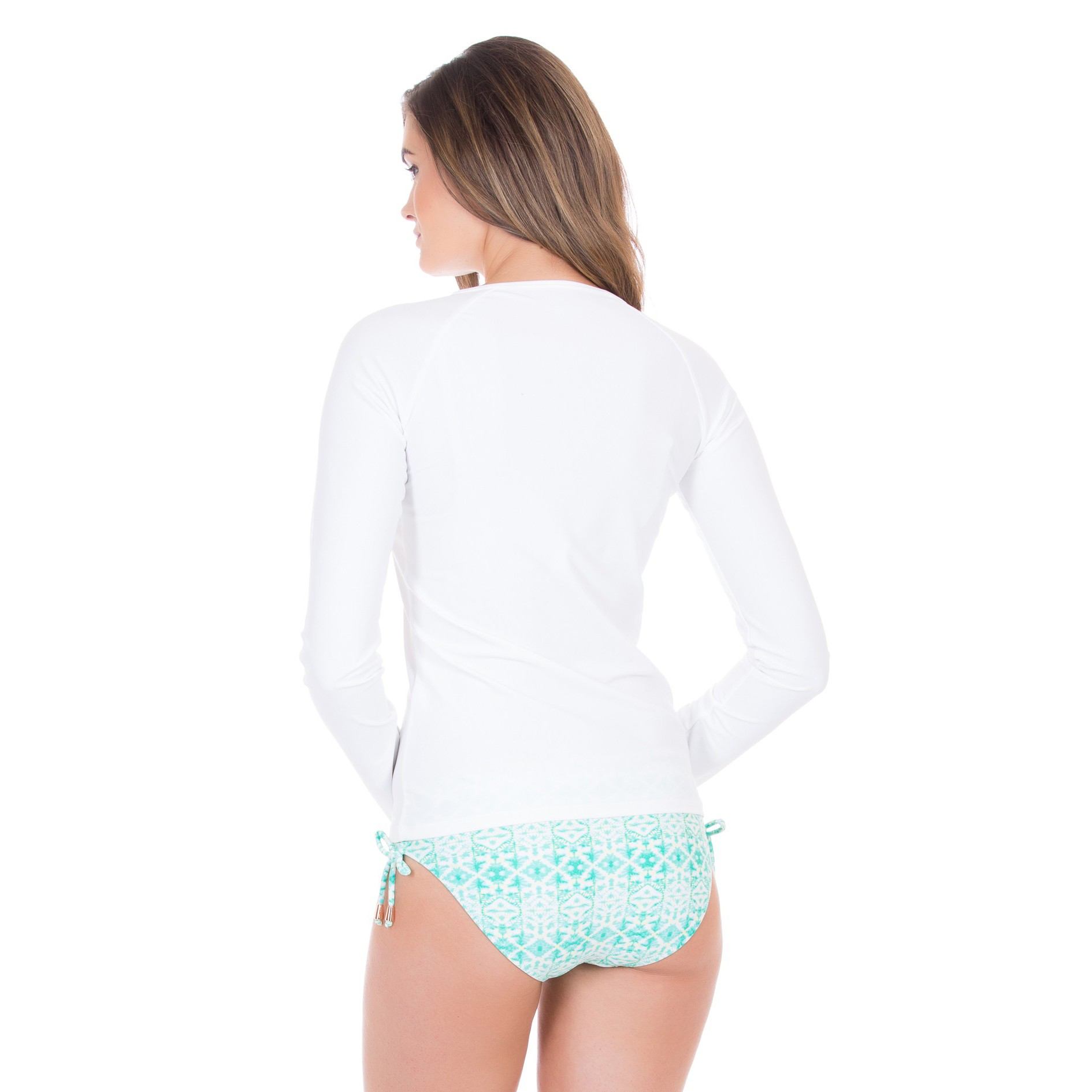 Cabana Life Front-Tie +50 UV Rashguard (Womens)