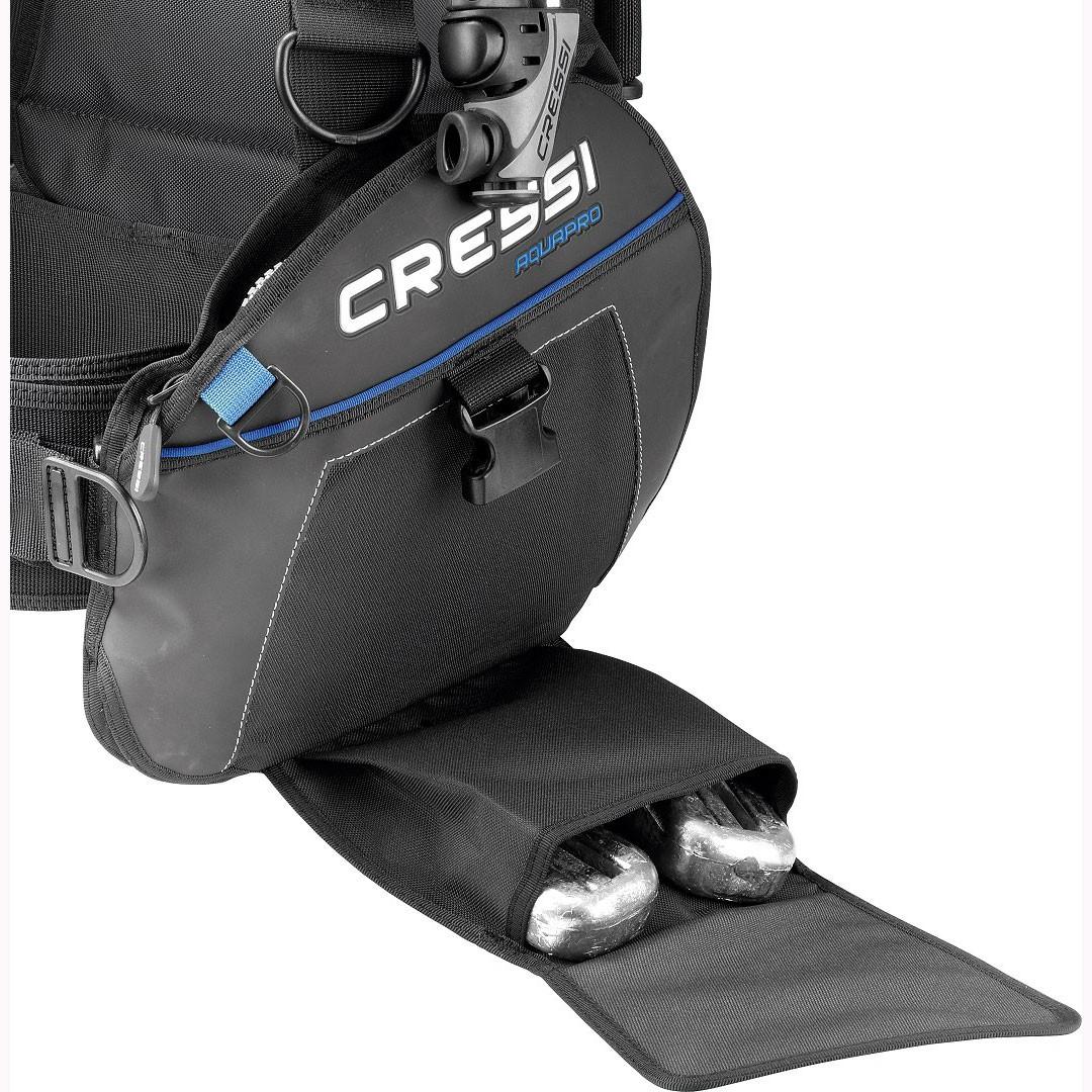 Cressi AquaPro+ Scuba BCD weights