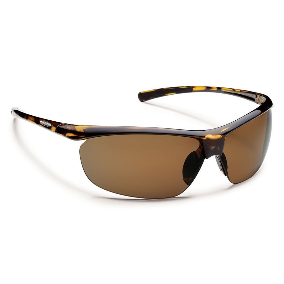 6d303301cc5 Suncloud Zephyr Polarized Polycarbonate Sunglasses - Tortoise Brown. Zoom