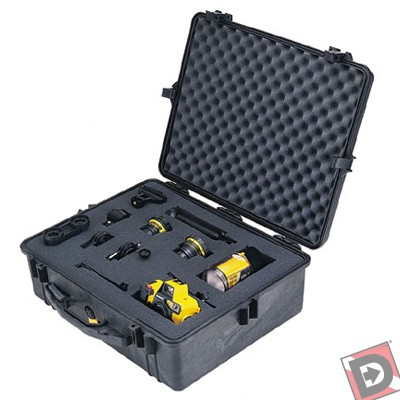 Pelican Model 1600 Dry Box - Grey Only