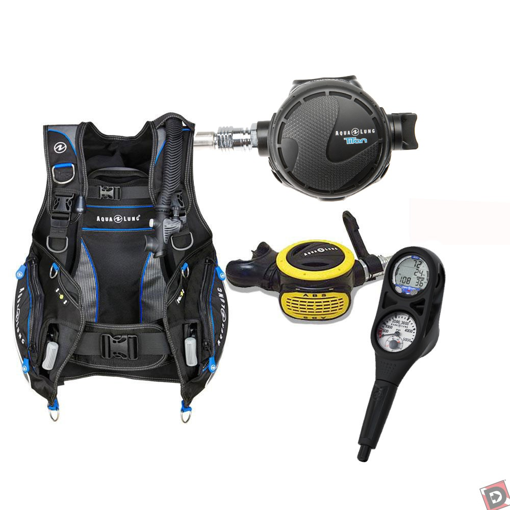 Aqua lung pro hd essential package for Scuba dive equipment