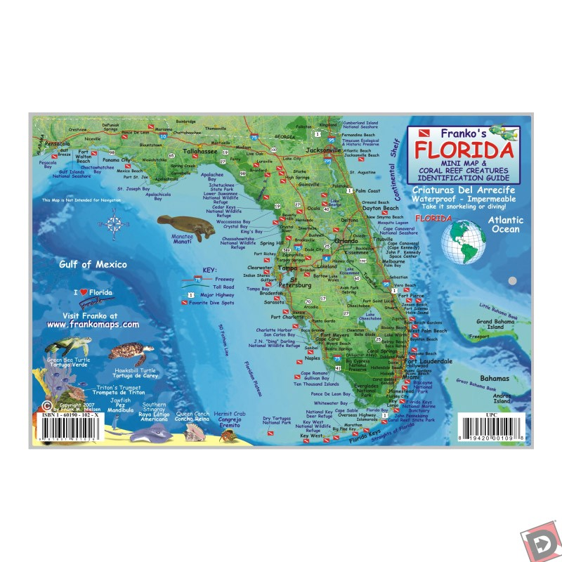 Florida state fish id card for Florida state fish