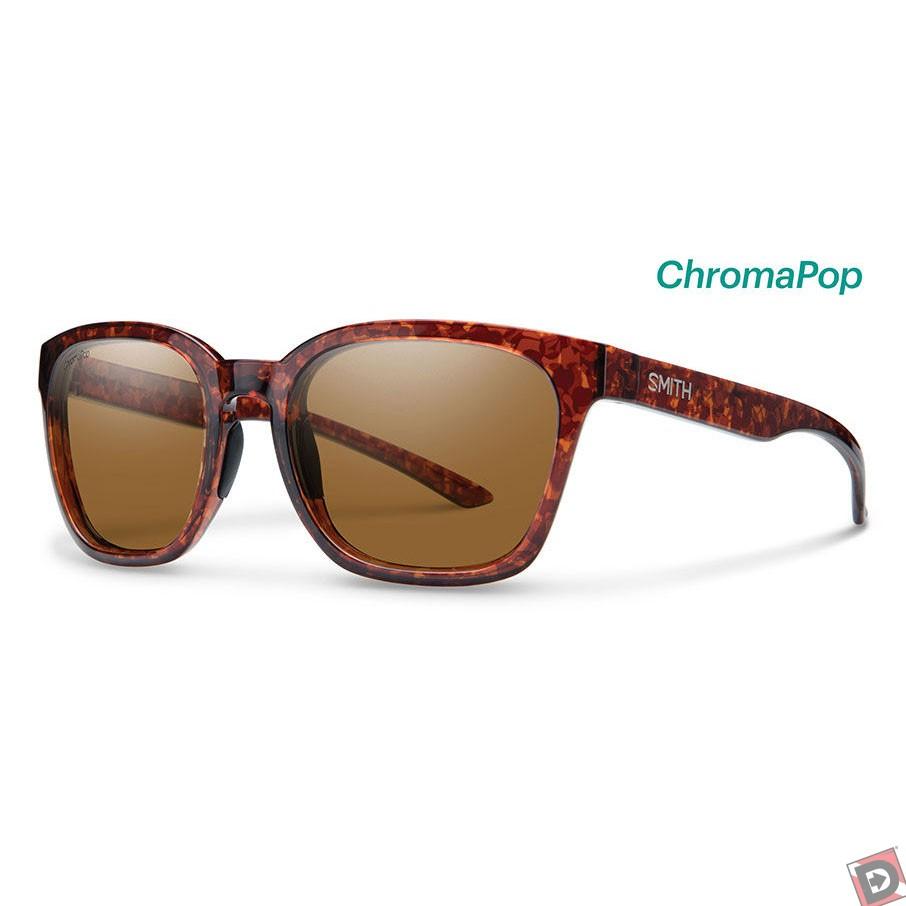 38257c1bf70 Smith Founder Sunglasses with Vintage Havana Frames and Chromapop Polarized  Brown Lens