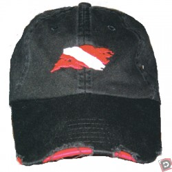 Amphibious Outfitters Distressed Dive Flag Hat