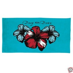 Image from Hibiscus Print Towel