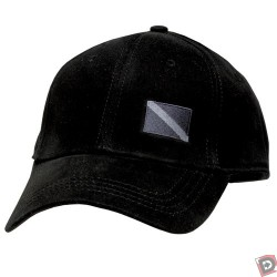 I-Flex Fitted Cap with Black Dive Flag