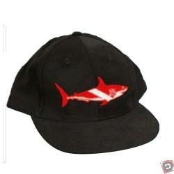 Shark Dive Flag Hat