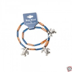 Image from Big Blue Turtle Charm Necklace
