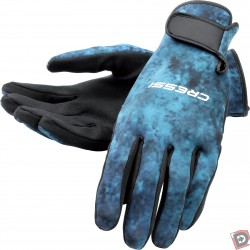 Image from Cressi 2mm Blue Hunter Spearfishing Gloves