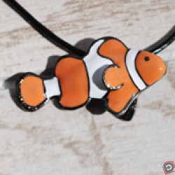 Image from Big Blue Clownfish Necklace