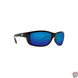 Costa Del Mar Zane Matte Black Blue - Angle