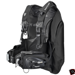 Used Aqua Lung Dimension i3 Scuba BCD side
