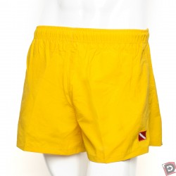 Image from Dive  Flag Shorts Yellow