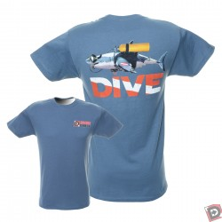 Image from Great White Shark Dive T Shirt