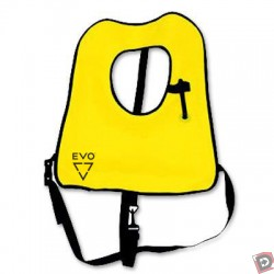 Image from EVO Inflatable Snorkel Vest